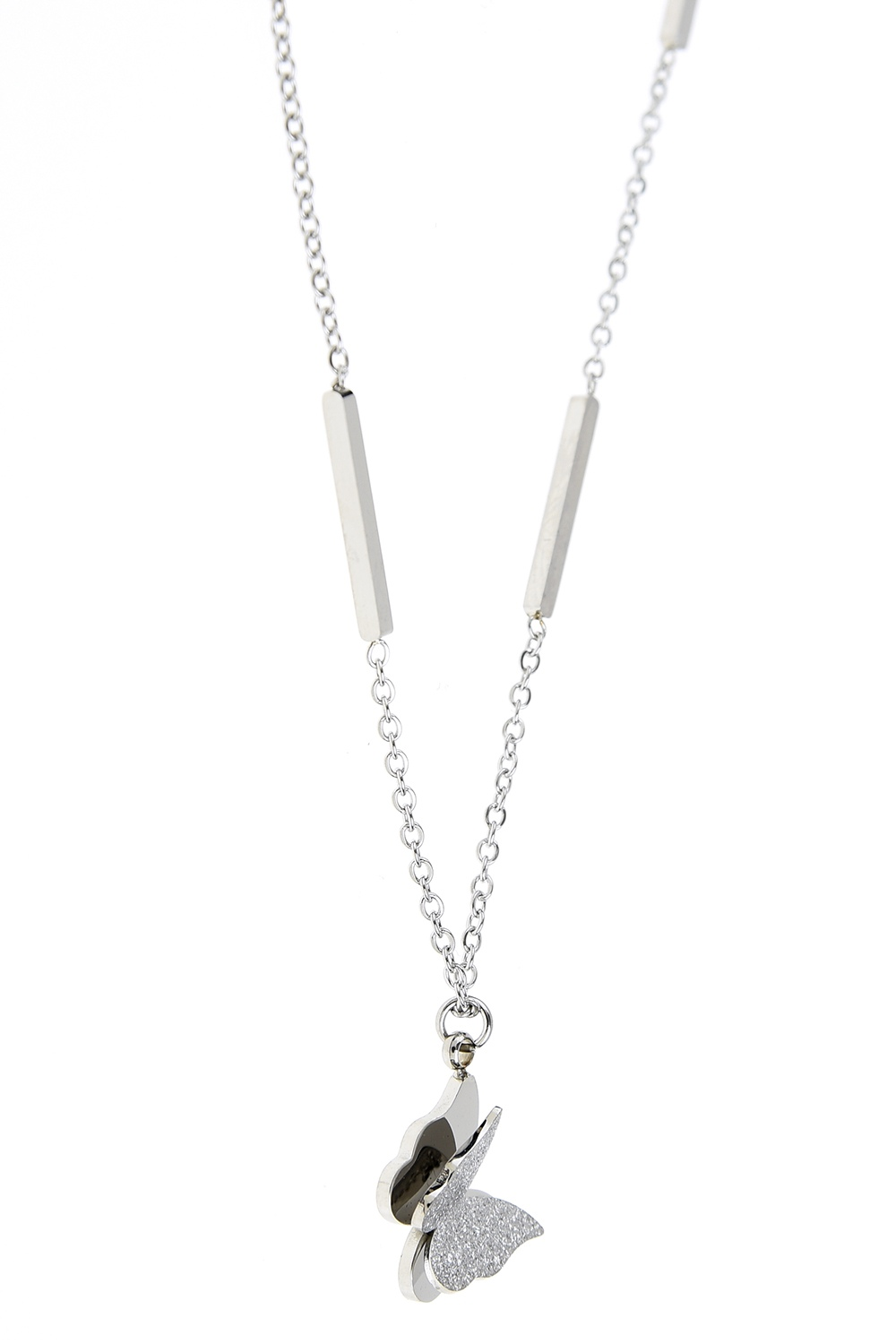 MIZALLE Butterfly Detailed Necklace (St) (1)