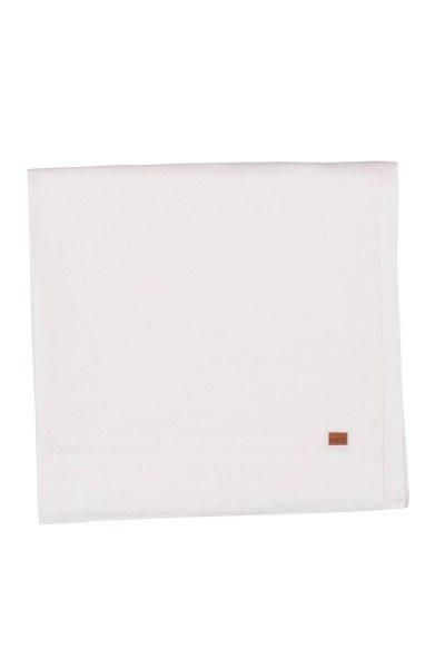 MIZALLE HOME Keten Masa Örtüsü (Beyaz)