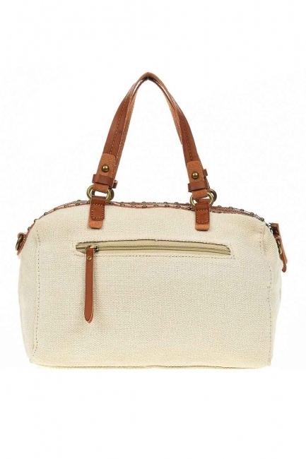Linen Arm Bag (Ecru) - Thumbnail