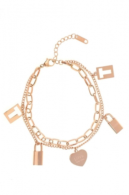 Lock Steel Bracelet (St) - Thumbnail