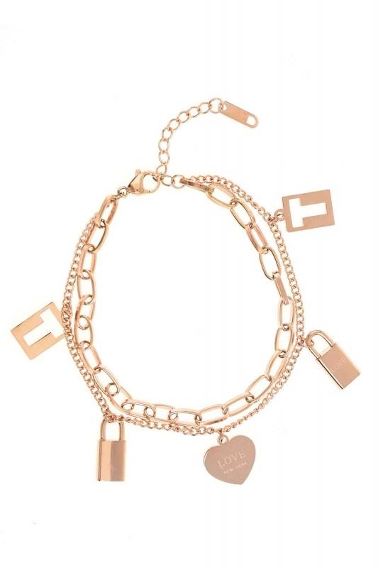 Lock Steel Bracelet (St)
