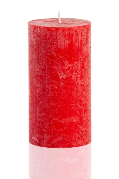 Mizalle - Silindir Kırmızı Rustik (13X6, 8)
