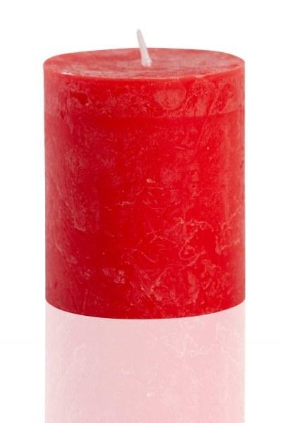 MIZALLE HOME Silindir Kırmızı Rustik (8X6, 8)