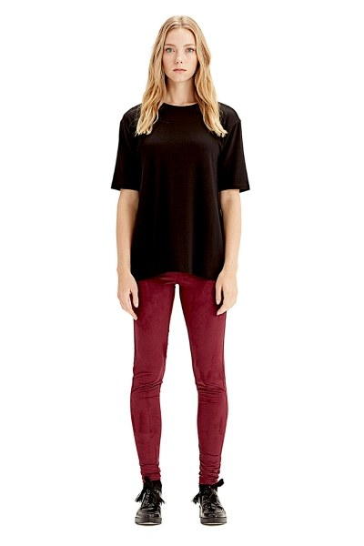 MIZALLE Kısa Kollu T-Shirt (Siyah)