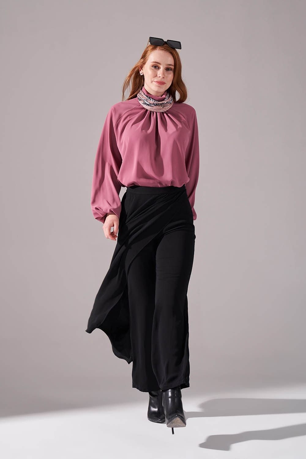 Klasik Pantolon Etek (Siyah)