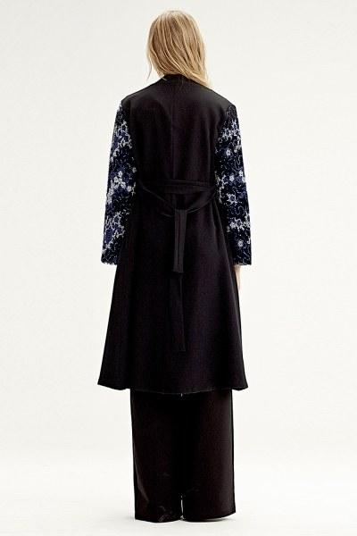 Kimono Inlaid Sleeve (Blue) - Thumbnail