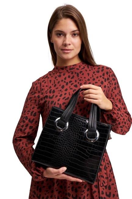Classic Hand Bag (Black) - Thumbnail