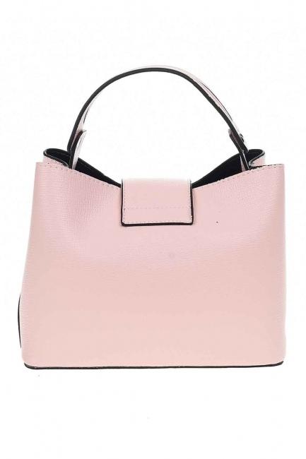 حقيبة يد مع المفاجئة الصغيرة (وردي فاتح) - Thumbnail