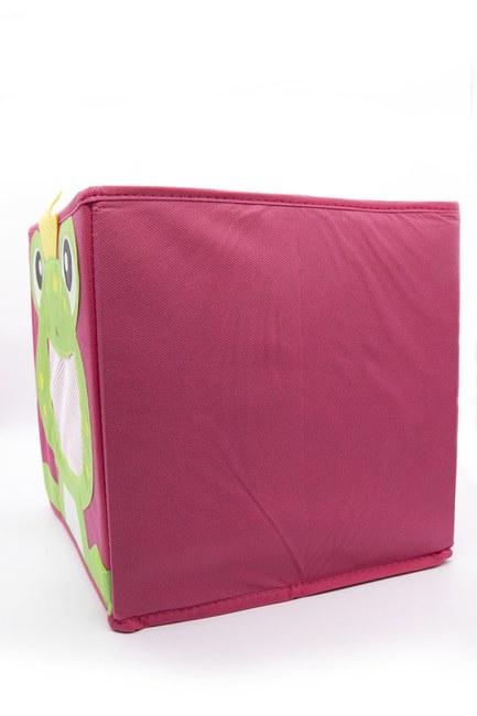 MIZALLE HOME - Frog Toy Storage Box (Red) (1)