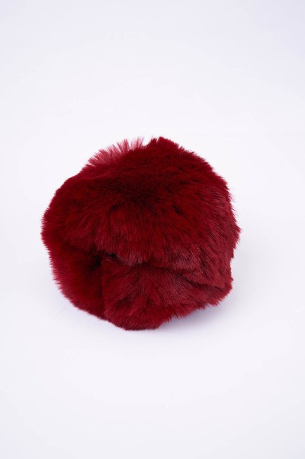 MIZALLE - Furry Oversleeve (Claret Red) (1)