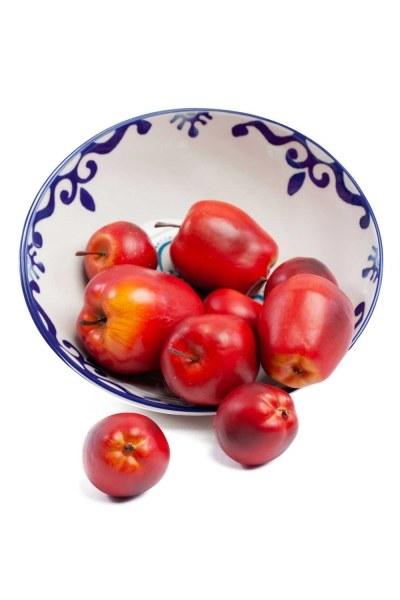 MIZALLE Kutulu Dekoratif Kırmızı Elma(