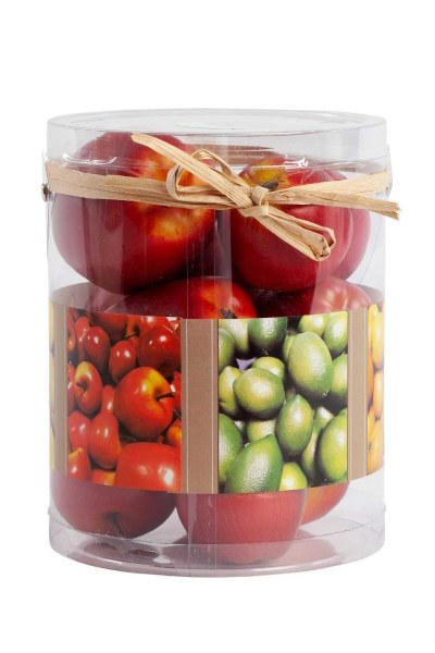 MIZALLE HOME - Decorative Boxed Red Apple (1)