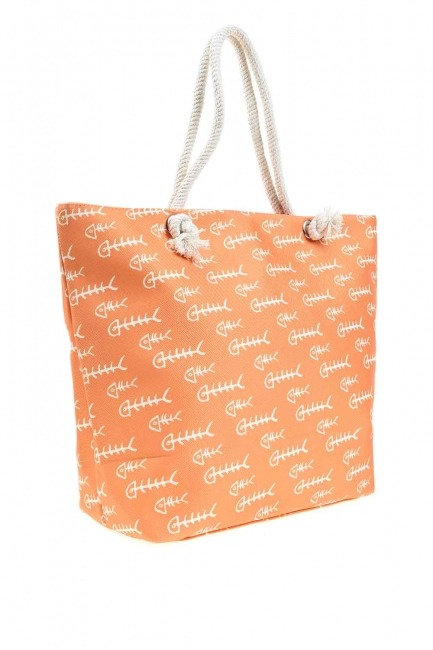 Mizalle - Large Beach Bag (Fish) (1)