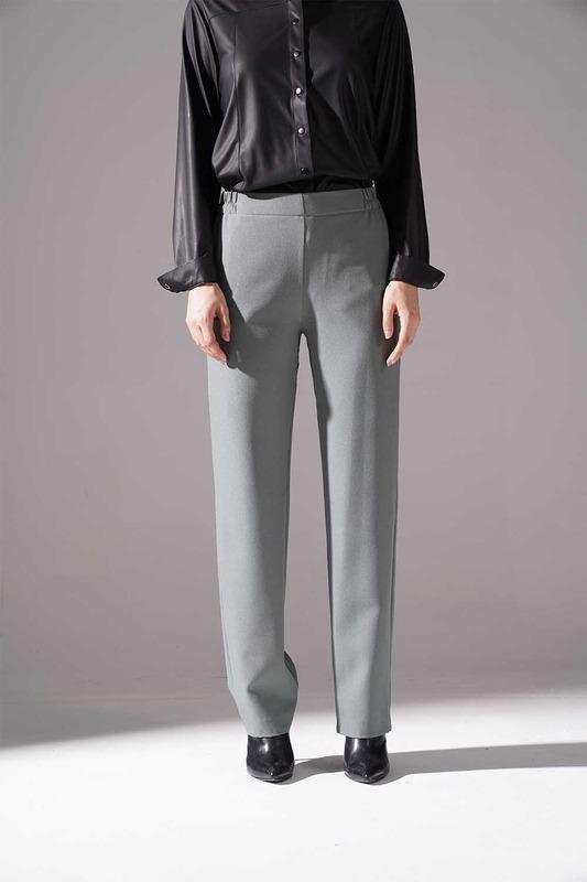 Lastikli Krep Pantolon (Çağla)