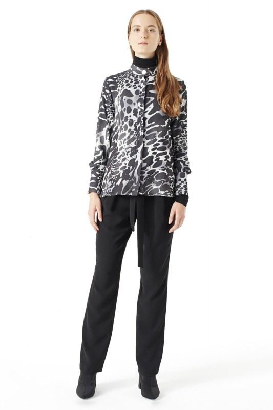 Leopard Shirt (Black)