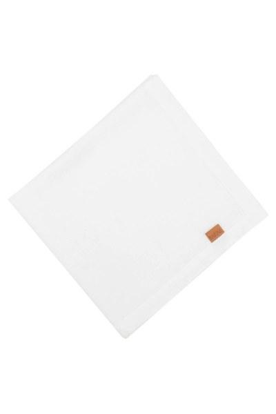 MIZALLE HOME Linen Napkin (White)