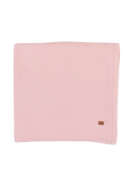 MIZALLE HOME Linen Tablecloth (Pink)