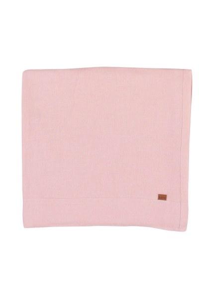 MIZALLE HOME الكتان مفرش المائدة (الوردي)