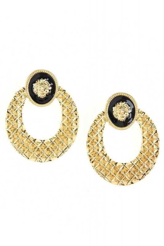 Lion Figured Earrings (St)