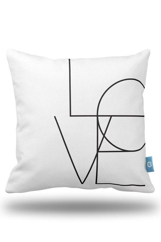 الحب وسادة القضية الزخرفية (43X43)