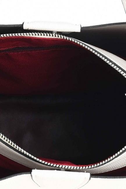 حقيبة يد كلاسيكية فاخرة (بيج) - Thumbnail