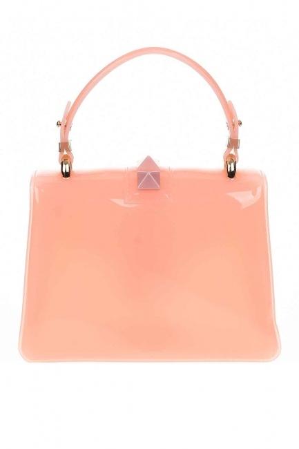 حقيبة يد فاخرة لينة (الوردي) - Thumbnail
