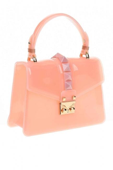 MIZALLE - Luxury Pink Hand Bag (Pink) (1)