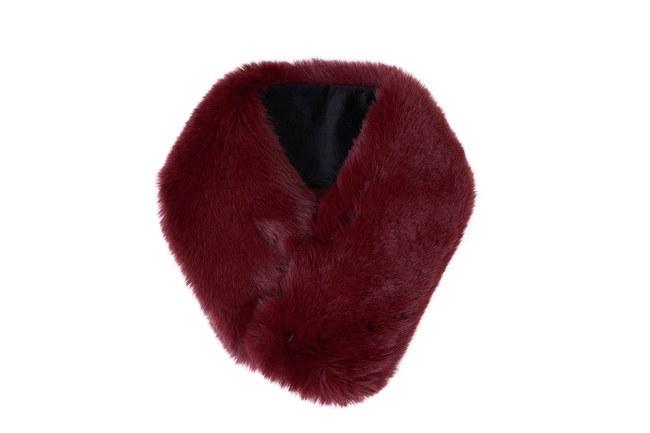 Mizalle - Magnetic Neck Collar (Claret Red) (1)