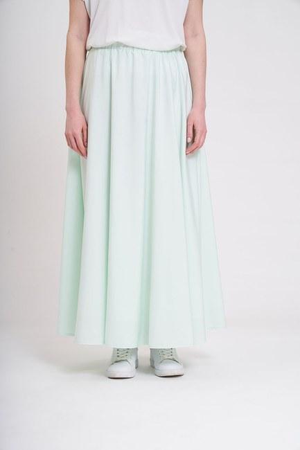 MIZALLE - تنورة قصيرة مرنة (النعناع) (1)