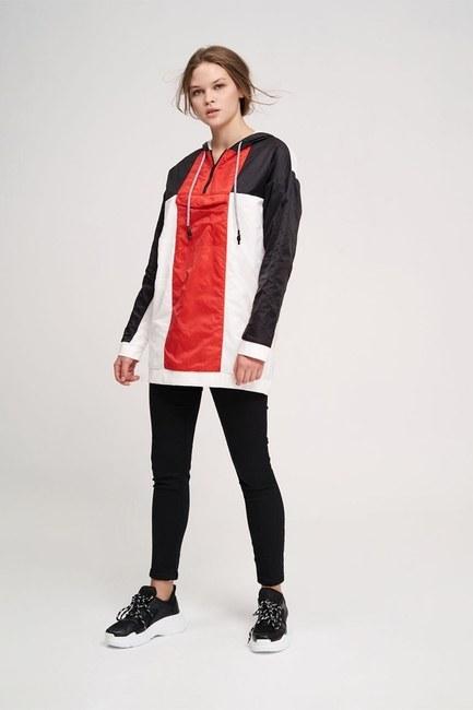 Mikro Kaplamalı Sweatshirt (Siyah) - Thumbnail