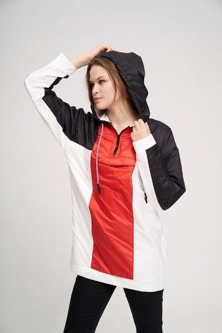 MIZALLE YOUTH - Mikro Kaplamalı Sweatshirt (Siyah) (1)