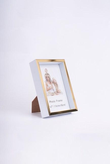 MIZALLE HOME - Minimal Fotoğraf Çerçevesi (Gold) (1)