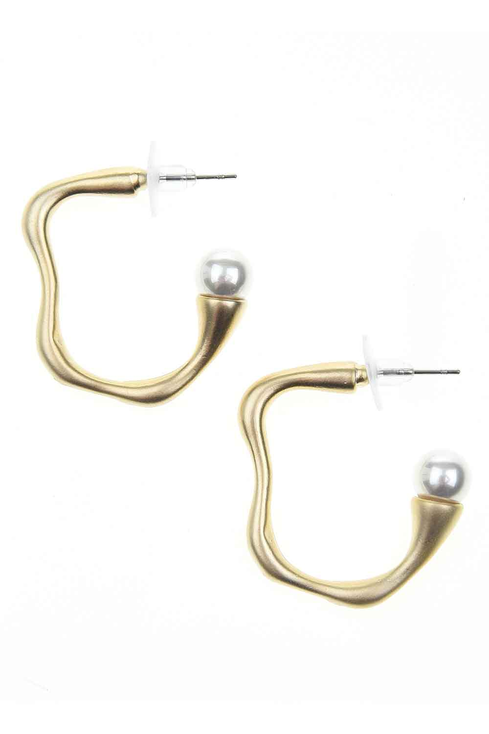 MIZALLE Minimal Design Earrings (St) (1)