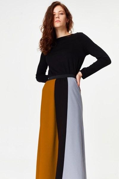 Multi-Pieces Skirt (Grey) - Thumbnail