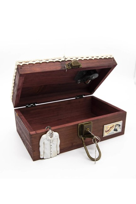 MIZALLE HOME - صندوق الخياطة خشبي مع الموسيقى (ميكس) (1)