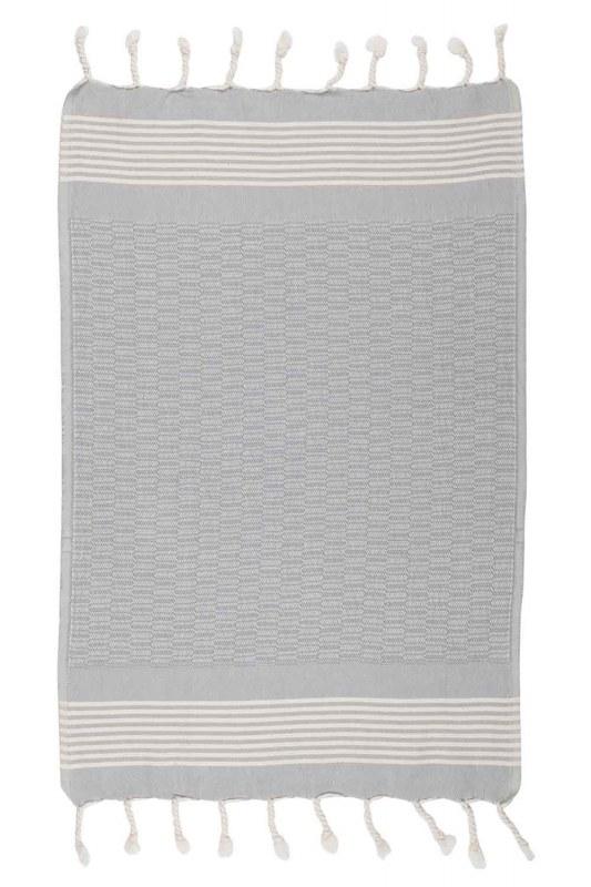 منشفة مطبخ (50 × 76) (رمادي)