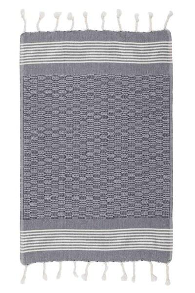 Kitchen Towel (50X76) (Navy) - Thumbnail