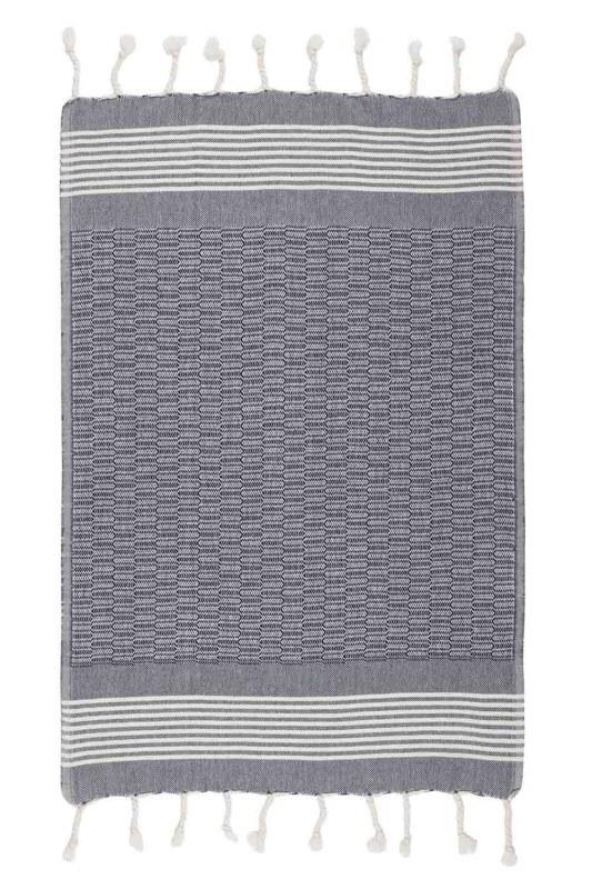 Kitchen Towel (50X76) (Navy)