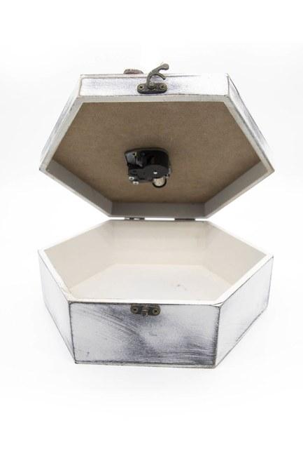 MIZALLE HOME - صندوق الخياطة سداسية مع الموسيقى (ميكس) (1)
