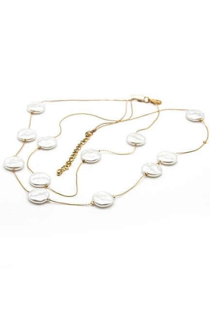 MIZALLE - Nacre Necklace (St) (1)