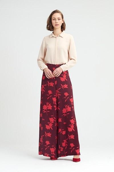 MIZALLE - Vermillon Trousers (1)