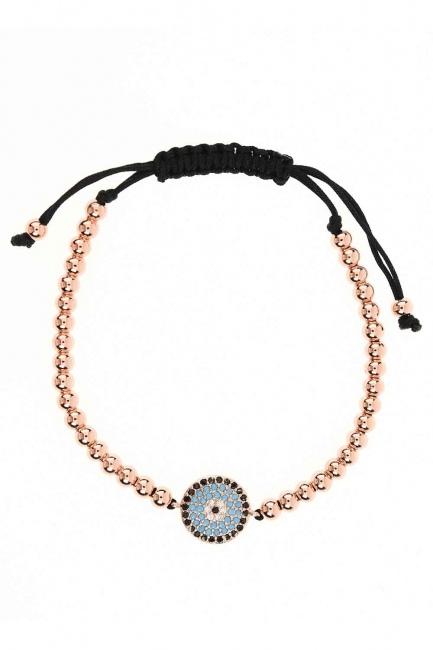 Evil Eye Bead Bracelet (St) - Thumbnail
