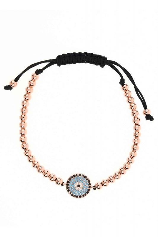 Evil Eye Bead Bracelet (St)