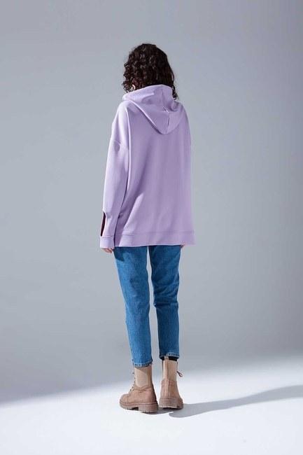 Neon Karyoka Sweatshirt (Lila) - Thumbnail