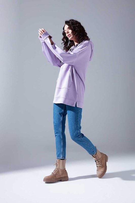 Neon Karyoka Sweatshirt (Lila)