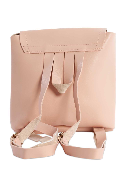 MIZALLE حقيبة ظهر نسائية مع الجبهة الإضافية (مسحوق) (1)