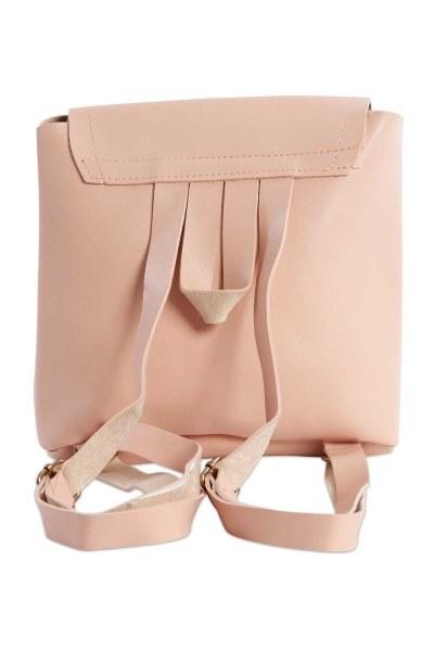 MIZALLE - حقيبة ظهر نسائية مع الجبهة الإضافية (مسحوق) (1)