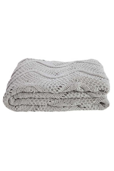 MIZALLE HOME Braided Beige Seat Shawl (130X170)
