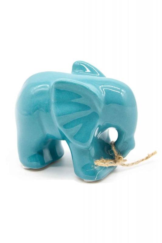 Orta Boy Fil Biblo (Mavi)
