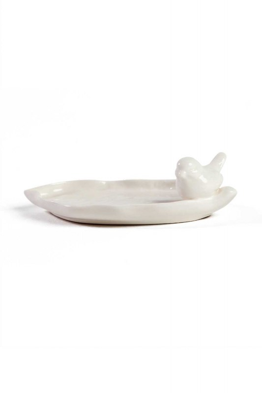 Oval Porcelain Jewelry Plate